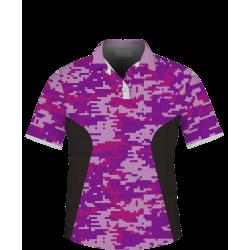 Púrpura Geométrico