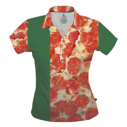 Polo Dry Fit de Mujer, Pizza