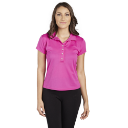 Women's  Flat Back Mesh (Dry Fast)  Polo, Collar combination
