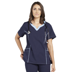 Medical Top Elegant and fashion with two pockets on the sides