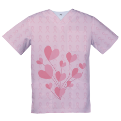 Sublimated Medical Top, fight against cancer