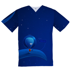 Personalized Medical Top, Extraterrestrial