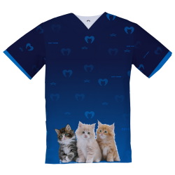 Personalized Medical Top, Kittens