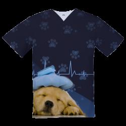 Top Médico Personalizado,  Perrito