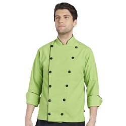 Chef's Coat - Green Style