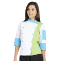 Chef's Coat - Tricolor - 3/4 Sleeve